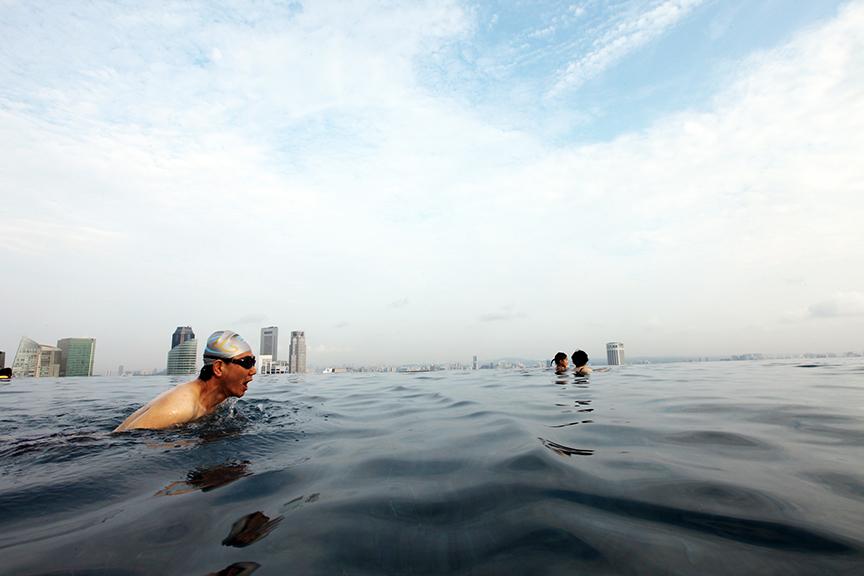 Swimmer / Singapore.