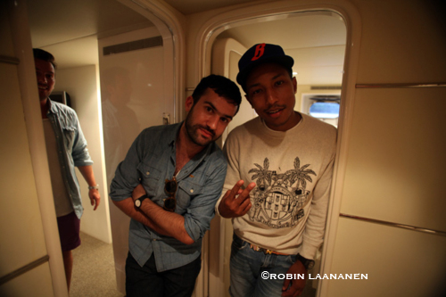 A-Trak and Pharrell / January 06 2011 / Sydney