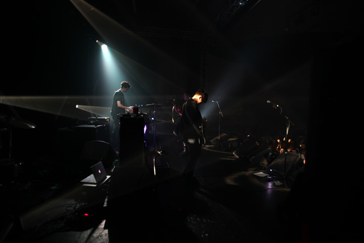 The XX / Dallas / October 08 2010 – last show of tour….