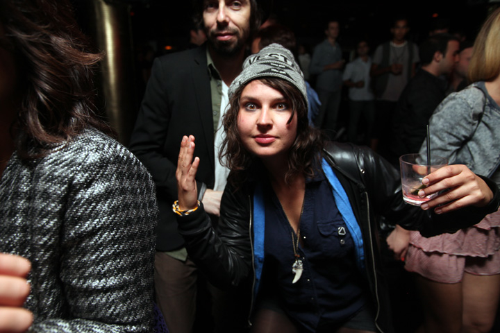 Warpaint / Toronto after-party / September 29 2010