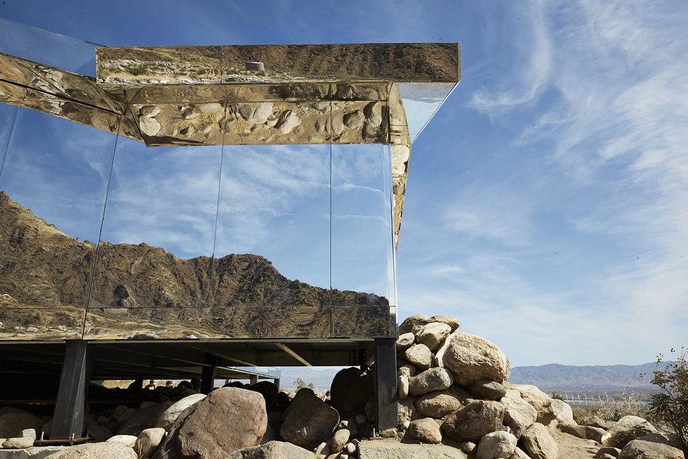 "Doug Aitken's ""Mirage"" / April 23 2017 / Palm Springs, California."