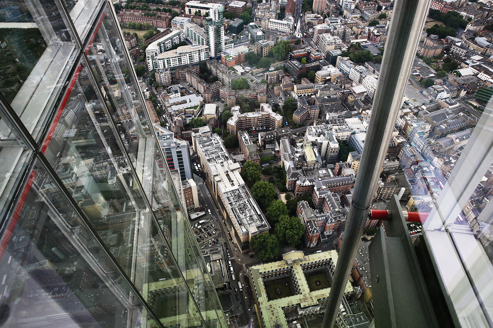 View from above / July 10 2017 / London, England.