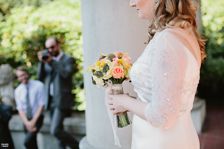 Vancouver Vintage Wedding Ceremony