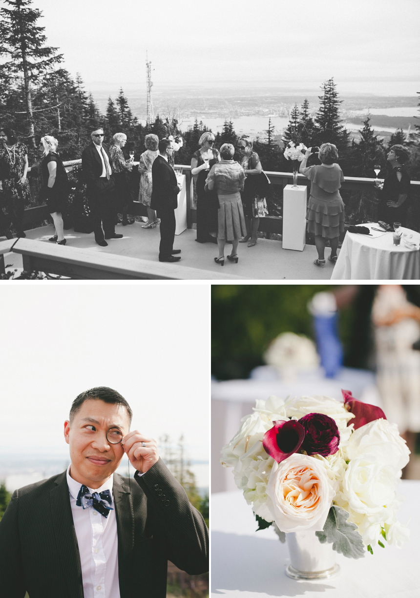 Vancouver Grouse Mountain Wedding