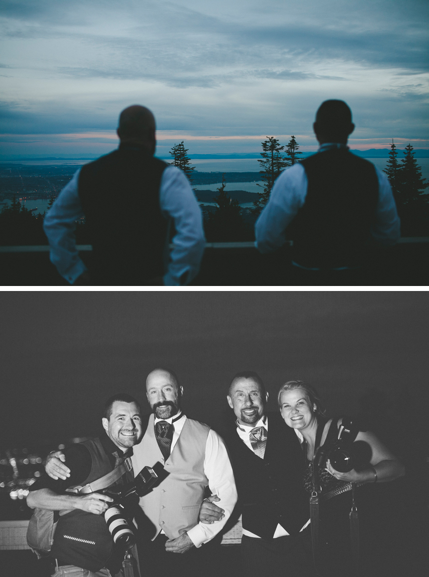 Vancouver Grouse Mountain Wedding // Shari + Mike Photographers