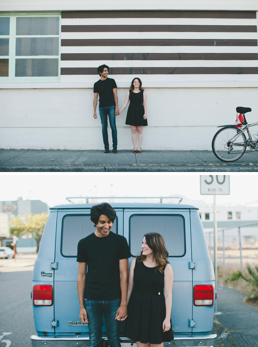 East Van Engagement Photography