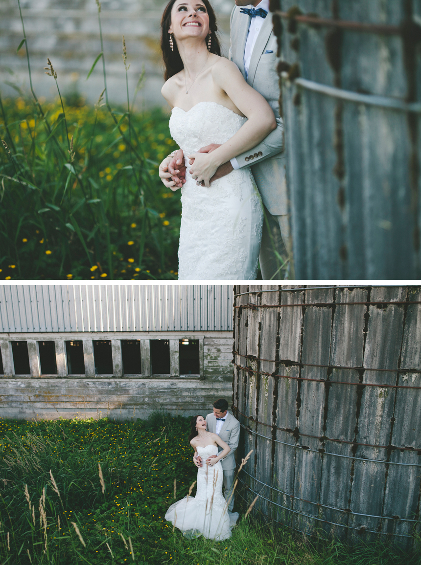 Vancouver Farm Wedding Portraits