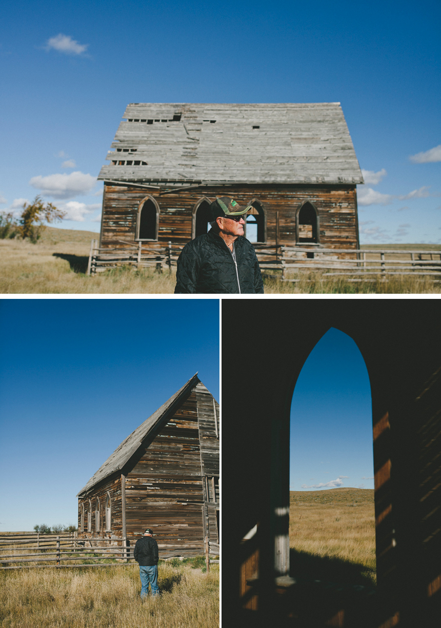 Saskatchewan Farm Church