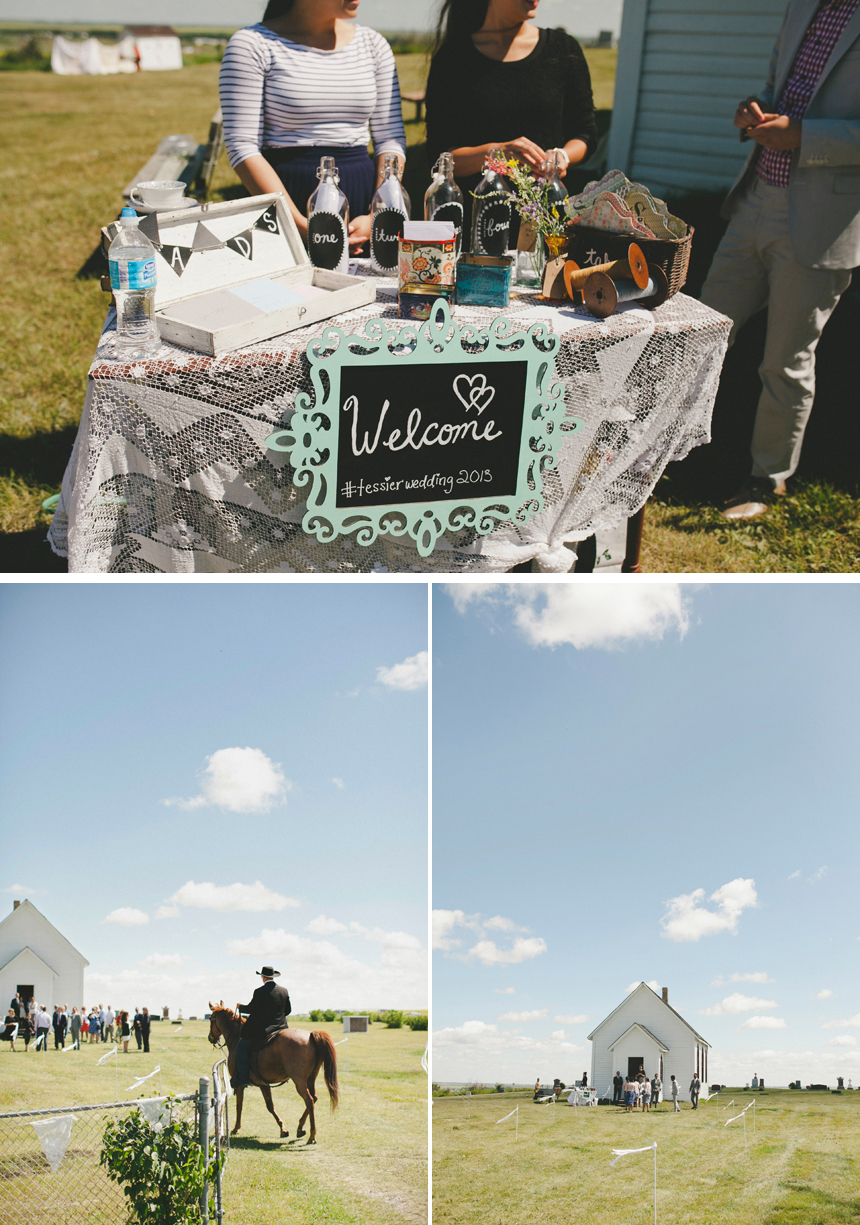 Alberta Prairie DIY Wedding