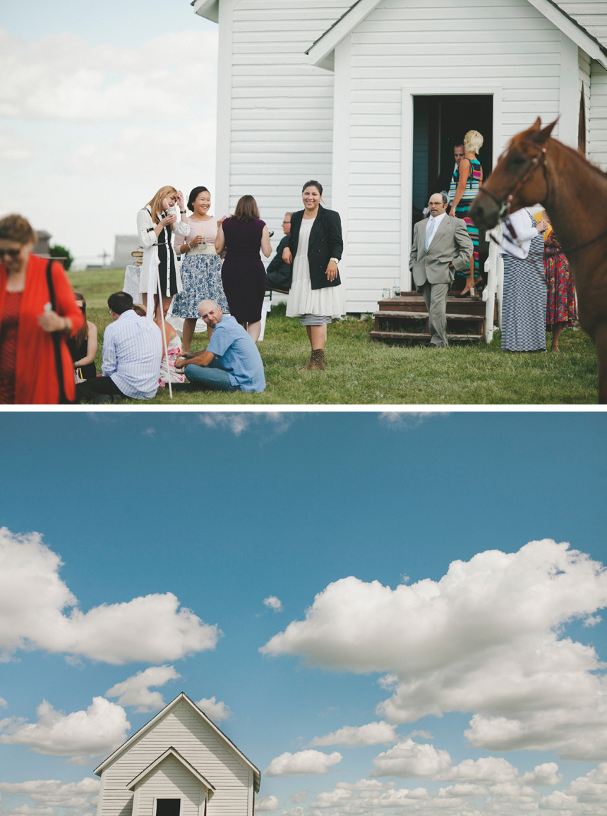 Canadian Prairie DIY Wedding