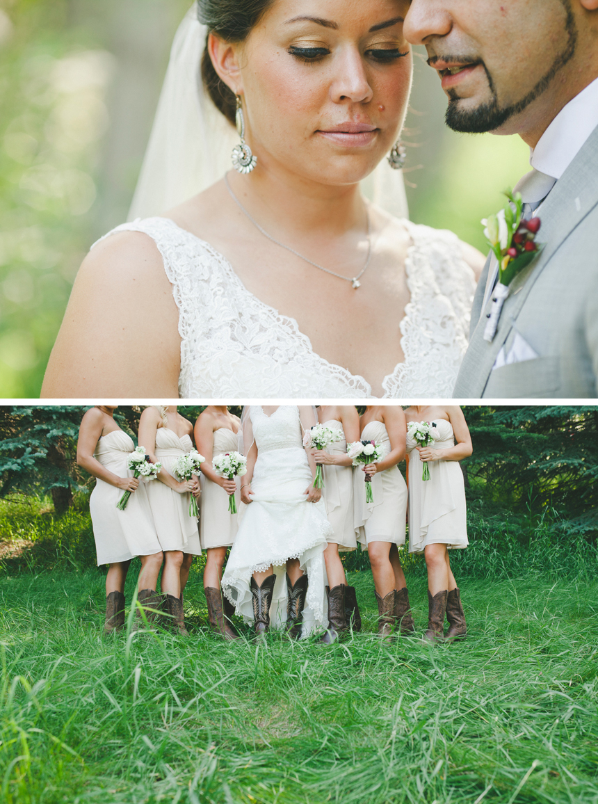 Calgary Western Wedding