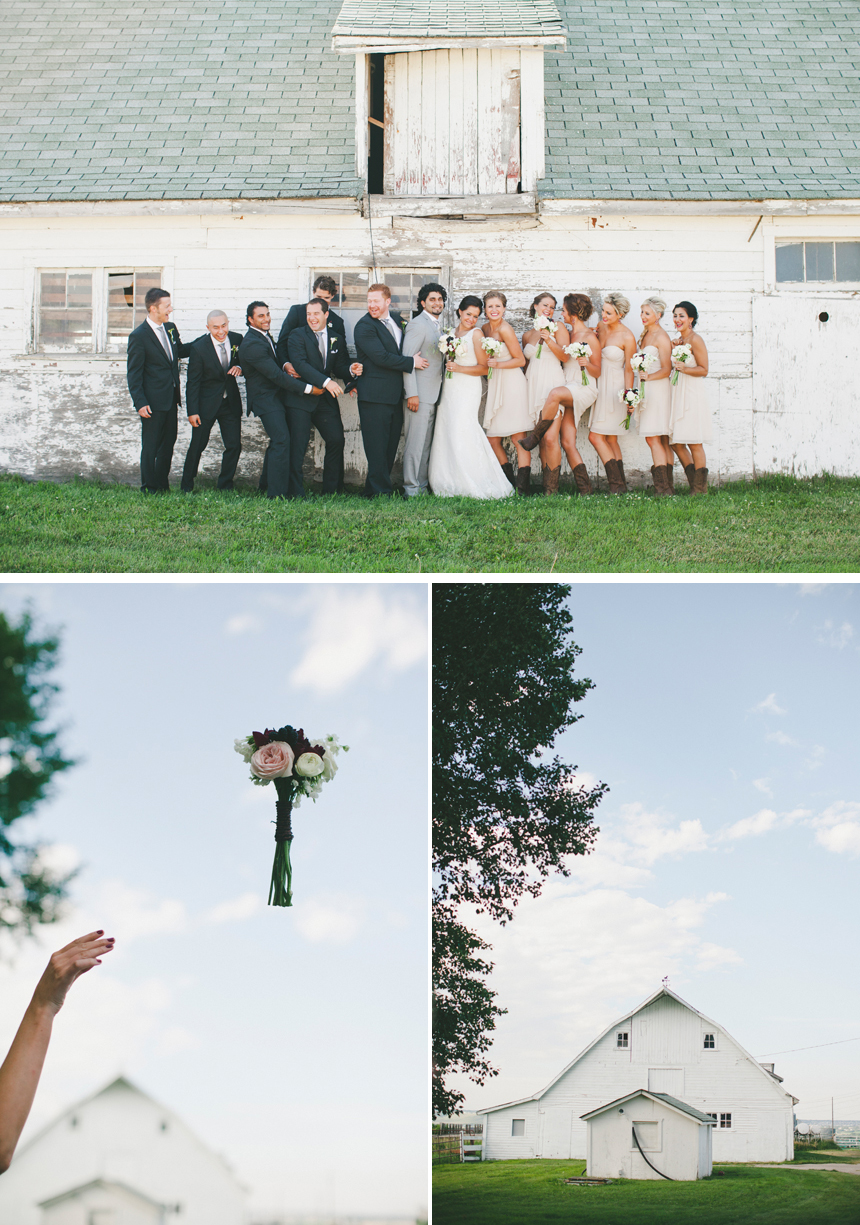 Alberta Barn Wedding Photography