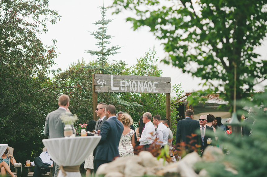Calgary DIY Acreage Wedding
