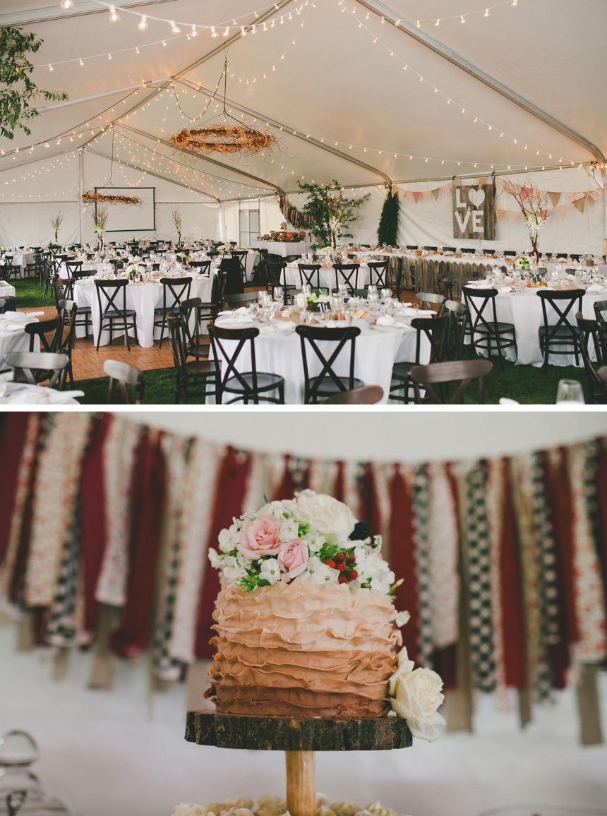 Alberta Outdoor DIY Wedding