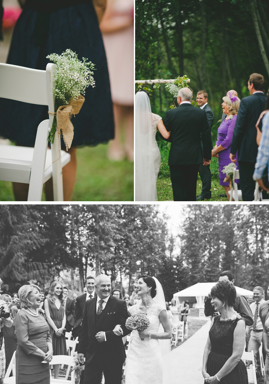 Pemberton Outdoor Wedding Ceremony
