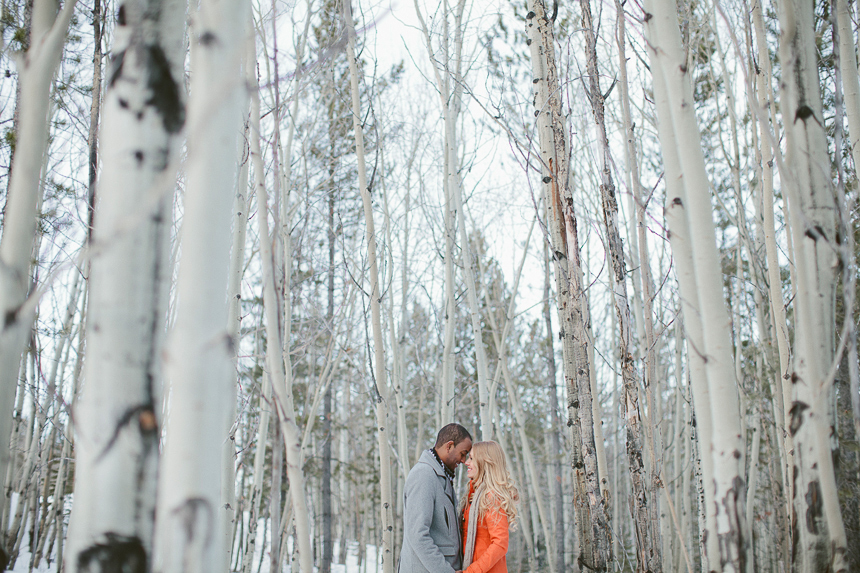 Alberta Winter Wedding Photographer