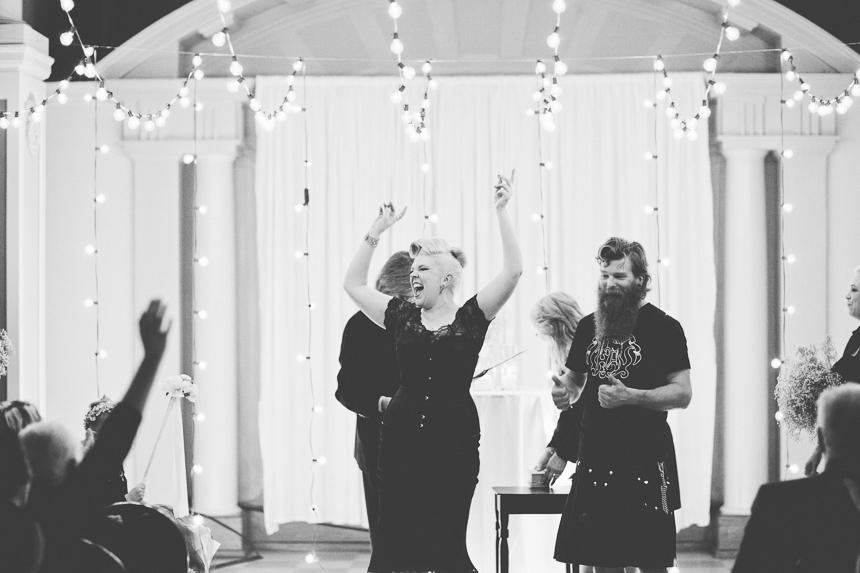 Unique Vancouver Wedding