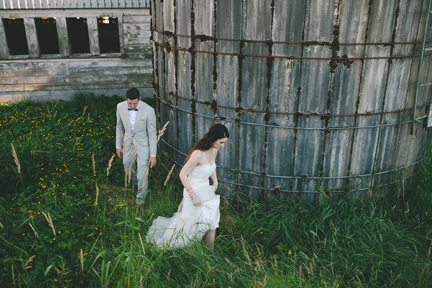 Vancouver Farm Wedding Photographer