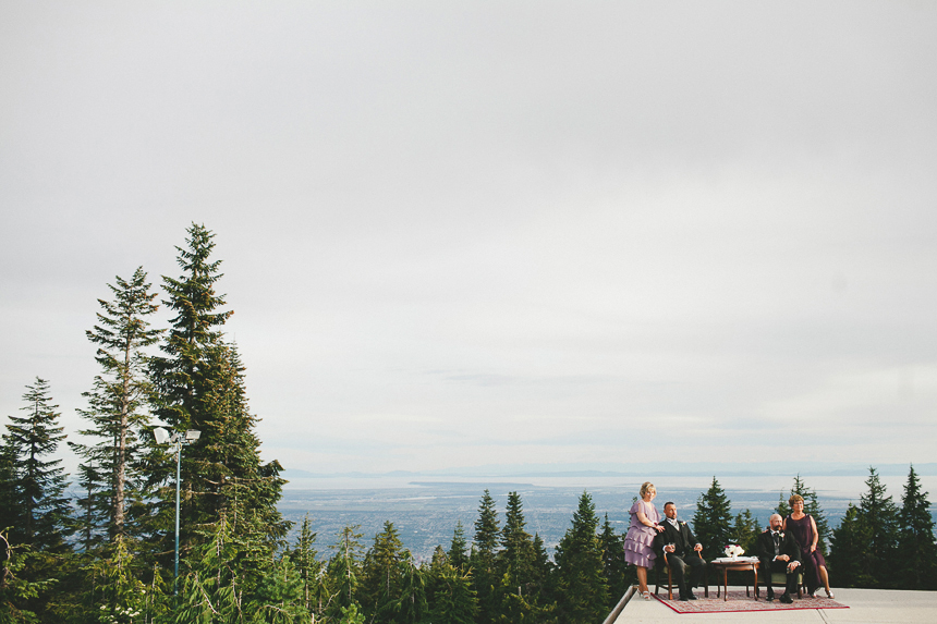 Grouse Mountain Downton Abbey Wedding
