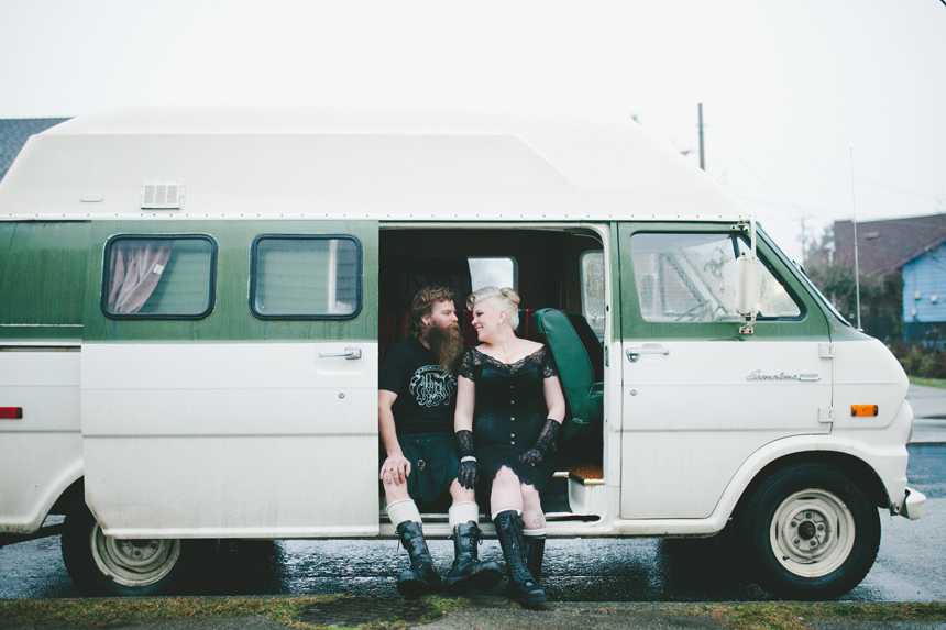Classic Campers Wedding Portraits