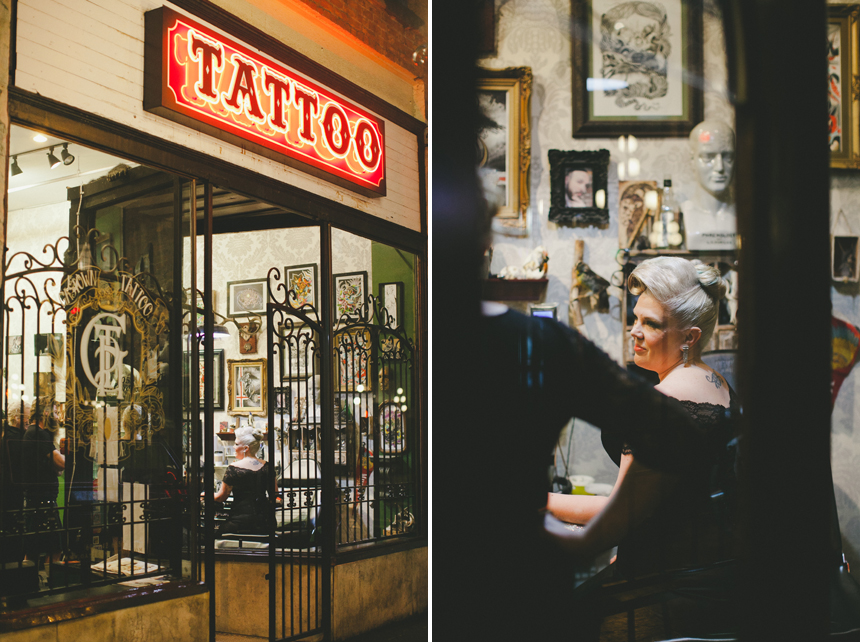 East Van Tattoo Parlour Wedding