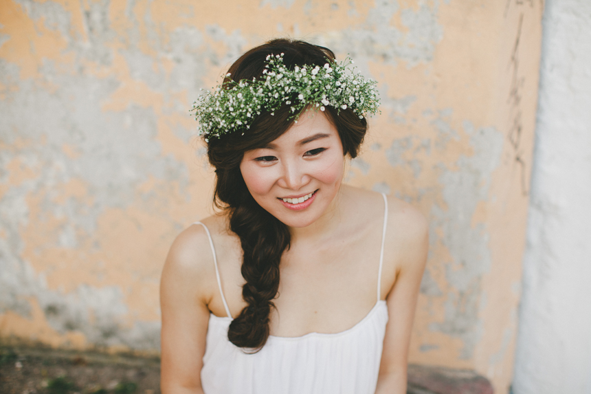 Vancouver Bride Flower Crown