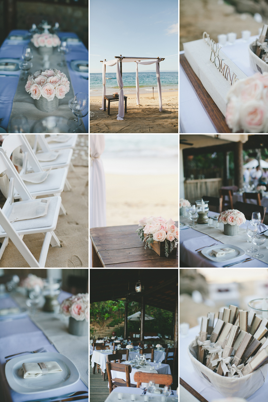 Las Caletas Adventure Wedding Details
