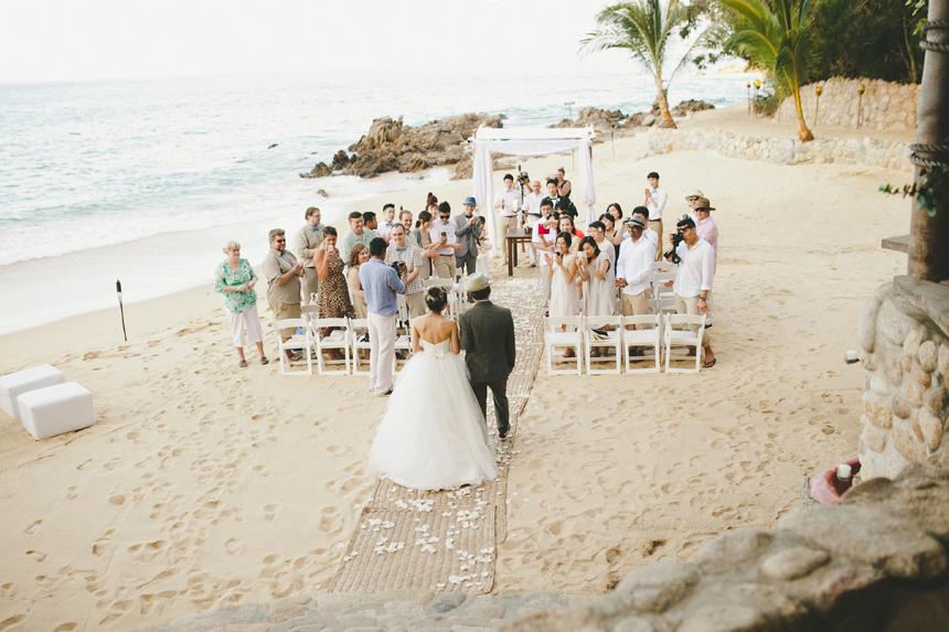 Las Caletas Island Ceremony