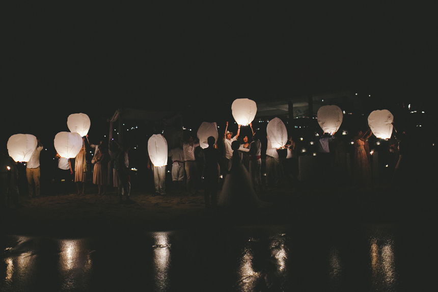 Chinese Lantern Wedding Photography