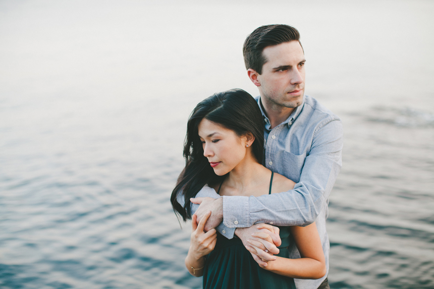 Lighthouse Park Engagement Photography