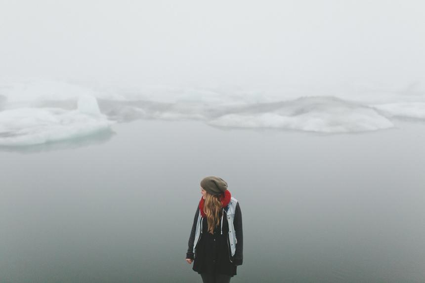 Iceland Iceberg Lagoon Portrait