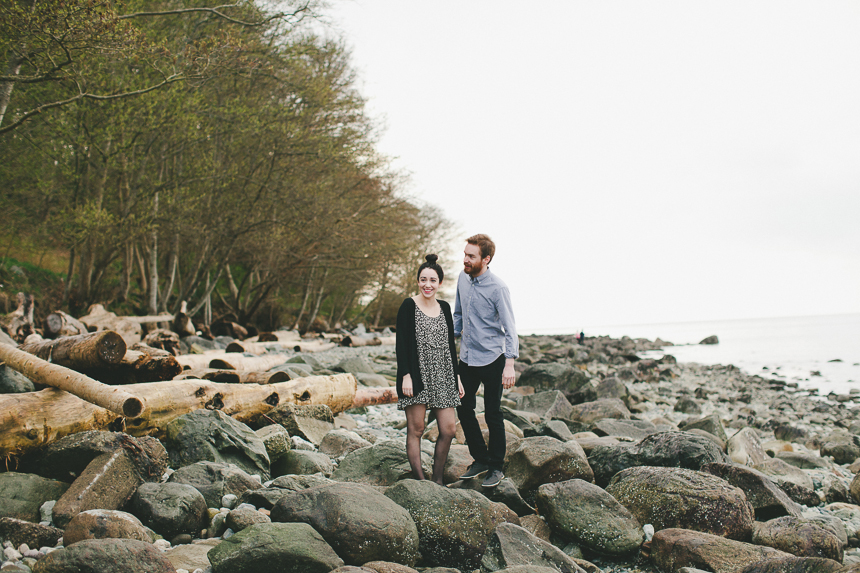Pacific Spirit Park Engagement Photography