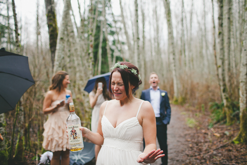 Squamish Brewery Wedding