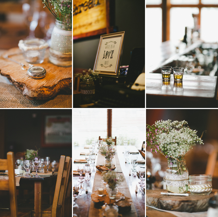 Brewery Wedding Details