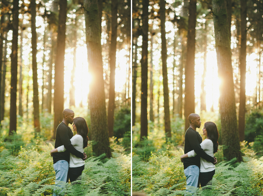 Stanley Park Engagement Photography