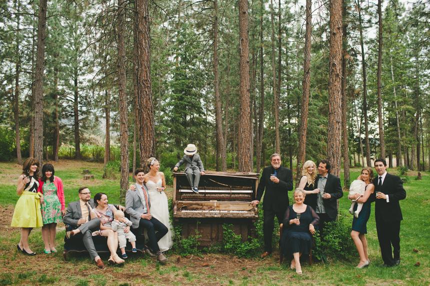 Creative Wedding Family Photos