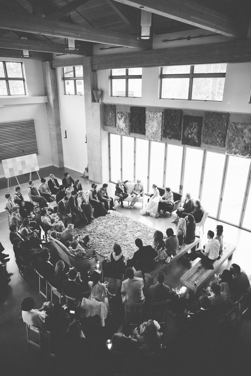 Circle Wedding Ceremony