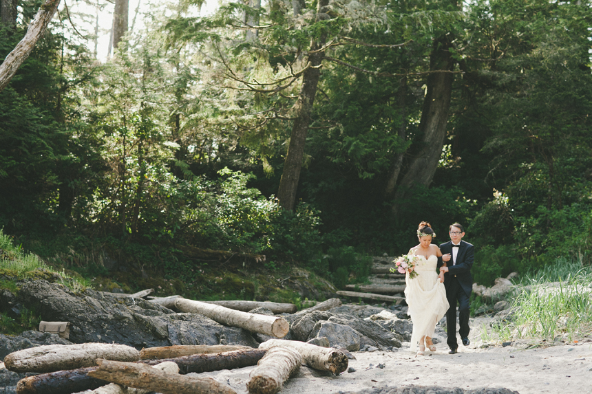 Tofino Destination Beach Wedding Photography