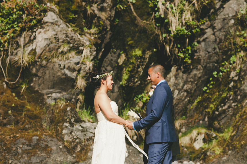 Tofino Outdoor Wedding Ceremony