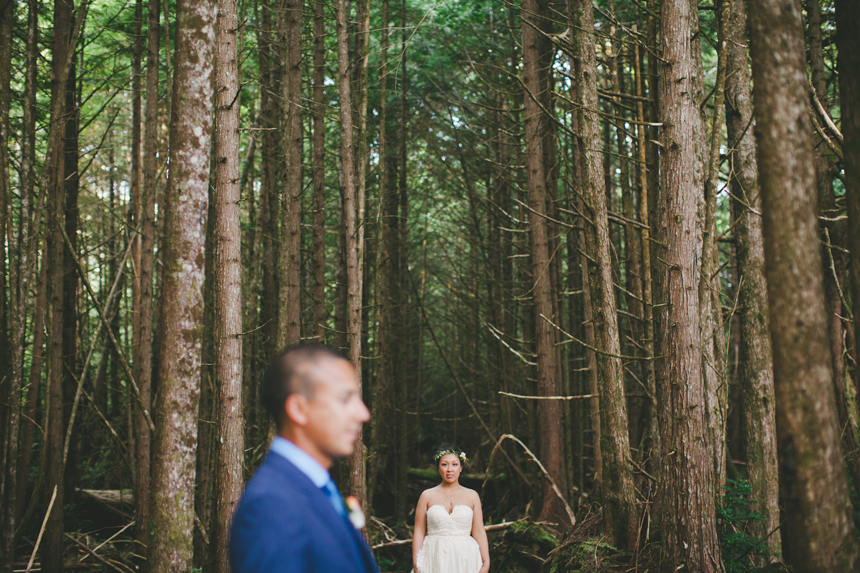 Vancouver Island Destination Wedding Photography