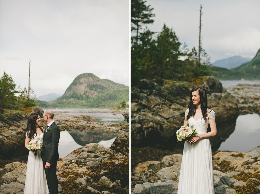 Discovery Islands Destination Wedding Photos