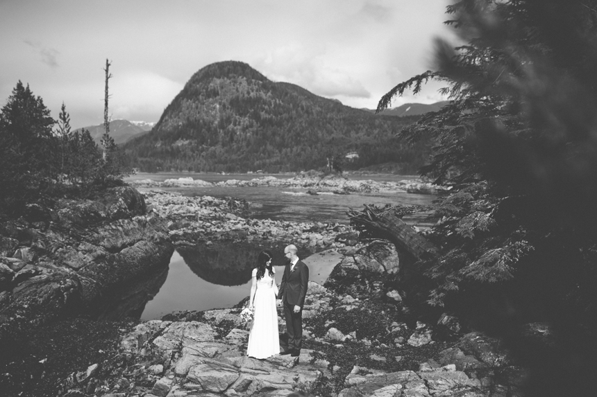 Gulf Island Wedding Photos