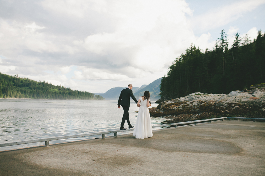 BC Discovery Islands Destination Wedding