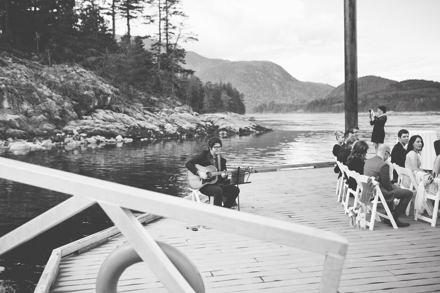 Gulf Island Outdoor Ceremony