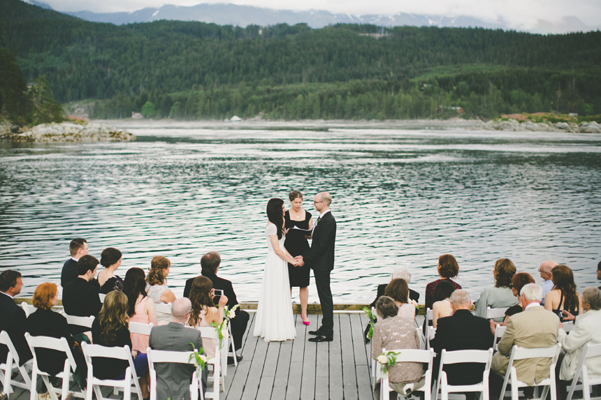 Sonora Island Destination Wedding Ceremony