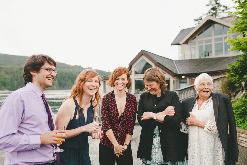 Intimate Gulf Island Wedding