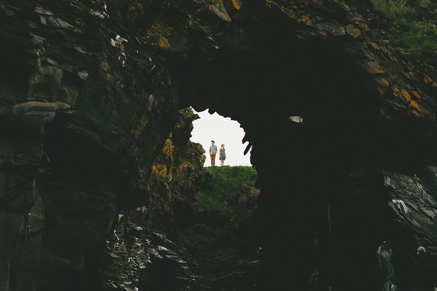 Hellnar Iceland Engagement Photography