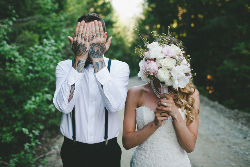 Tattooed Groom