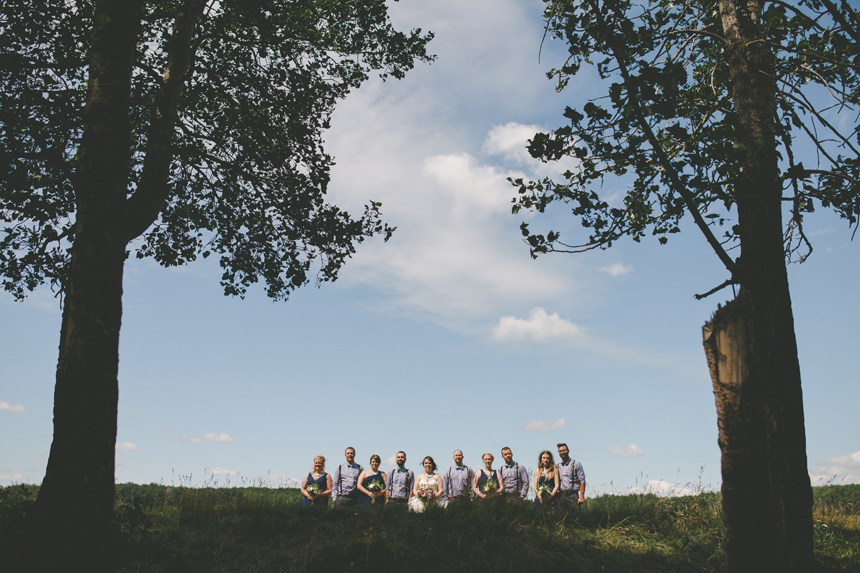 Alberta Farm Wedding Photos