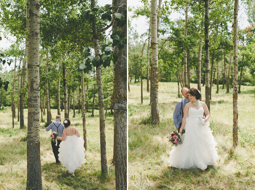 Alberta Backyard Wedding